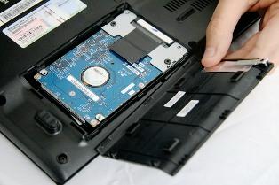 увеличение объема жесткого диска в ноутбуке